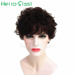 Cheap Short Tight Afro Curly Wig Brazilian Afro Kinky Curly Hair Wig Glueless Full Lace Human Hair Wigs for Black Women