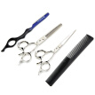 "HT9210 6"" Professional Hair Cutting Scissors kit Barber Shears 440C stainless steel hair clipper haircut kit hairdresser scisors"