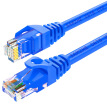 Shanze (SAMZHE) six types of cable CAT6 Gigabit high-speed network line indoor and outdoor 8-core network cable Category 6 computer TV router cable BLU-6030 blue 3 meters