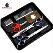 7 inch pet grooming scissors set best cut nail clipper stainless steel straight cutting thinning shears sharp pet recurved shear