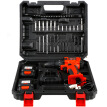 SANTO 9701 12V Dual Lithium Battery Drill Kit Quick Charger Drill Charger Drill Electric Screwdriver