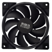 Overclocking three (PCCOOLER) Haoyue 12CM blue chassis fan (water cooling heat / computer power supply fan / CPU fan / shock absorption mute / donate 4 screws)
