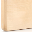 Royal material of the main body of the whole board of a single board imports of leaflets basswood solid wood chopping board cutting board fruit plate series YD01 (34 * 24 * 2cm)