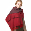 190*75cm 2017 New Fashion Double-sided Pure Color Cashmere Scarf  Keep Warm Comforter Wool Thickness Scarf  Fringed Pashmina shawl