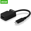 Green (Cano) Type-C to HDMI Converter Apple Accessories New Macbook pro Projection USB-C Adapter Docking HD Video Converter Black