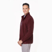 INTERIGHT Men's Polar Fleece Collar Sweater Casual Jacket