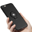 Biya Zi (BIAZE) Apple 6 / 6S mobile phone shell iPhone6 ​​/ 6s protective cover all-inclusive drop-proof ring buckle bracket male and female scrub shell king series JK211-black