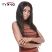 YYONG 150% Density Natural Hair Color Lace Front Wigs Silky Straight Human Hair Wig Malaysian Hair For Black Woman Free Shipping