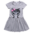 Cute Cat Lovely Toddler Baby Girls Princess Dress Party Kids Tulle Tutu Dress