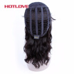 HOTLOVE Hair Brazilian Natural Wave None Lace Human Hair Wigs For Black Women With Baby Hair 150% Density Non Remy Hair