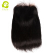 Cheap price virgin remy hair natural color straight 8-24 inches front lace wig