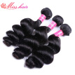 3 Bundles Indian Loose Wave Virgin Hair Bundle Deals Indian Virgin Hair Loose Wave Weave Cheap Human Hair Queen Weave Beauty