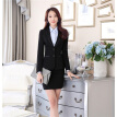 Novelty Gray Long Sleeve Professional Fashion Slim Jackets & Blazer Coat Formal Autumn Winter Ladies Blazers Outwear