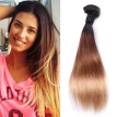 8A Ombre Hair Straight Hair 3 Bundles Color #1b/4/27 100% Remy Human Hair Bundles