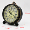 Vintage Alarm Clock Analog Student Retro Silence No Ticking Desktop Clock Large Numerals Display Clock Loud Alarm Table Clock