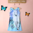 NWT Children Kids Girls Sleeveless Long Casual Summer Cotton Dress Clothes 4-12Y