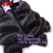 Malaysian Virgin Hair Loose Wave 4 Bundles Unprocessed Virgin Malaysian Hair Extension Human Hair Weave Bundles