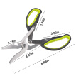 Kitchen Shears Heavy Duty Kitchen Scissors 4-in-1 Multipurpose Utensils Mainly for Chicken and Cooked Food