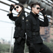 American military men and women in 101 suits  Camouflage suit  Special military training suit  Work clothes