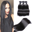 "Hot Shelling Brazilian Virgin Hair Bundles 3pcs 8""-30"" Silk Straight Natural Color Human Hair Weaves With Hair Extensions"