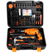 WORKERBEE GI550 RE Plus Household Power Tools Hand Drill Impact Drill Manual Tool Combination Repair Set