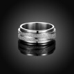BAFFIN Simple Titanium Ring The Lord of Ring For Men Women Wedding Party Accessories Stainless Steel Jewelry