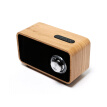 Newman MX06 Knob Switch Stylish Vintage Wood Wireless Portable Bluetooth Speaker Stereo, Subwoofer Desktop Sound Maple