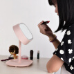 Make up mirror, desk lamp, dressing table, mirror, gift, charge, light, touch, LED desk lamp