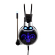 Sades SA908 gaming headphone headphone physics 7.1 channel vibration computer headset black and blue
