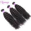 Peruvian Curly Wave Virgin Hair 3 Bundles Unprocessed Human Hair Weave Extensions Natural Color