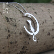 Luo Linglong s925 sterling silver  necklace fashion women  pendant necklace jewelry
