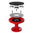 Biaze car phone holder vehicle bracket C20 central console magnetic absorption type red general version