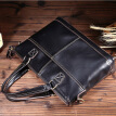 Restoring ancient ways cowhide leather shoulder bag male baotou layer cross his backpack9958