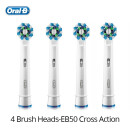 132 5000 Auténtico Oral B Cabeza de cepillo de dientes Cabezales de cepillo  reemplazables para Oral B Tipo de rotacion Cepillo 41392086bf2a