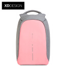 934716757eb9 XDDESIGN City Security Anti-theft Backpack Light Luxury Edition Business  Women s Backpack Casual Backpack 14 Inch Apple Laptop Bag Pink