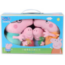 Piggy Pepper Peppa Pig Pink Pig Little Girl Pepper Pork Plush Toy Pillow Doll Doll Doll Dolls Dolls Dolls Set 19cm + 30cm