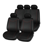 T21638 11pcs Universal Low-back Car Seat Set Cover Four Seasons Auto Cojín Accesorios interiores