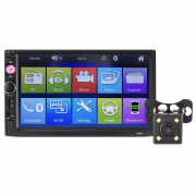 Universal 7010B 7 inch Bluetooth FM Radio Car MP5 Player with 720P Camera
