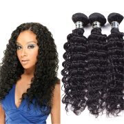 Amazing Star Brazilian Virgin Hair Deep Wave Bundles Human Hair Bundles Deep Wave Brazilian Hair Weave 3 Bundles