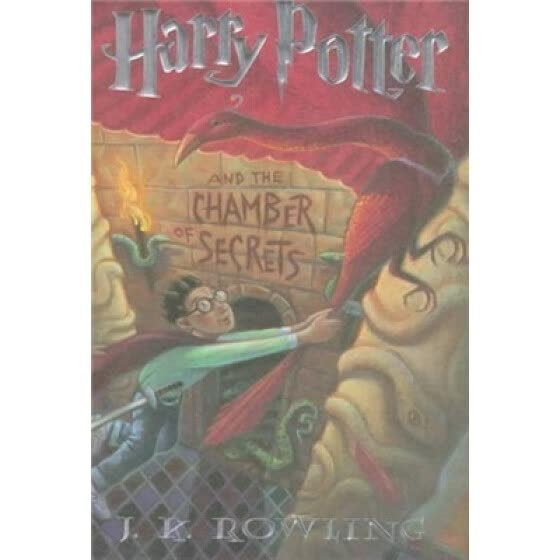 Harry Potter and the Chamber Secrets  哈利波特与密室 英文原版