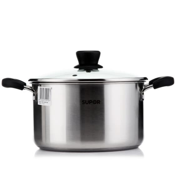 [Jingdong Supermarket] Supor refined stainless steel soup pot 304 stainless steel thicker thick soup pot pot pot cooker cooker pot ST22Z1
