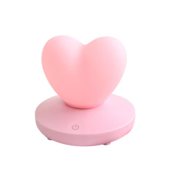W_USB Rechargable Heart Night Light for Valentine's Day Gifts Wedding Decoration Home Bedroom LED Romantic Atmosphere Night Lamp
