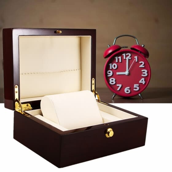 Men Women Luxury Watch Box Handmade Wooden Watch Case Jewelry Gift Storage