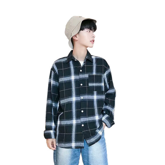 Summer Mens BF Style Korean Short Sleeve Casual Shirt Top Lapel Blouse Fashion