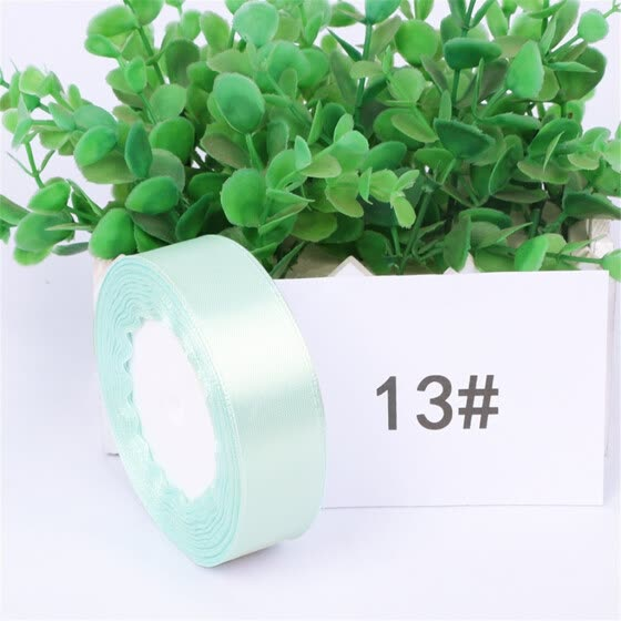 Silk Gift Box Ribbon DIY Bow Strap Home Decoration DIY Craft 2.5cm Multicolor