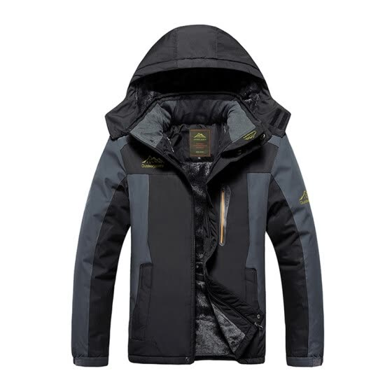 Men Winter Windbreaker Outdoor Hiking Thick Coat Mens Thermal Male Camping Skiing Sport Jacket Waterproof Windproof
