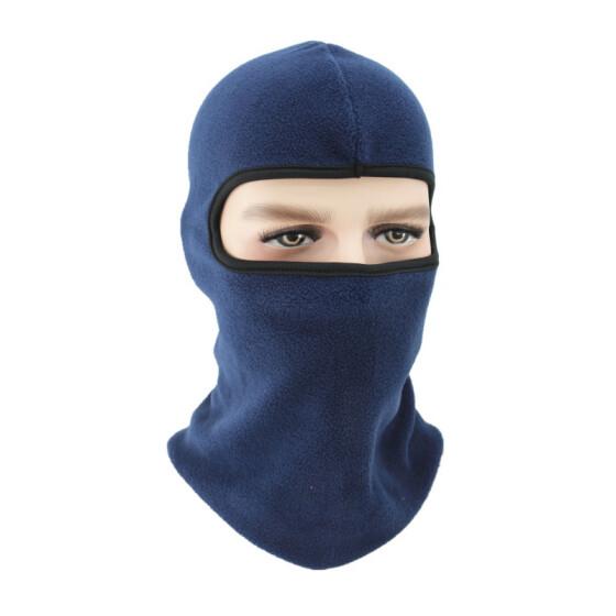 LODDD Winter Fleece Scarf Neck Warmer Face Mask Skiing Cycling Hiking Mask Hat