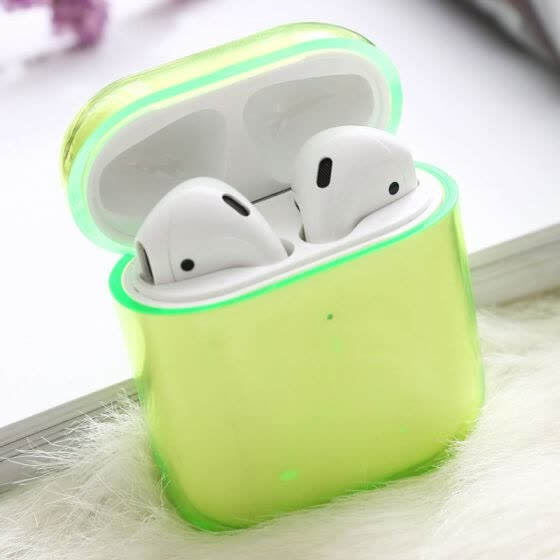 Transparent Jelly colour Airpods Case Protective Cover Wireless Earphone Case AirPods Accessory