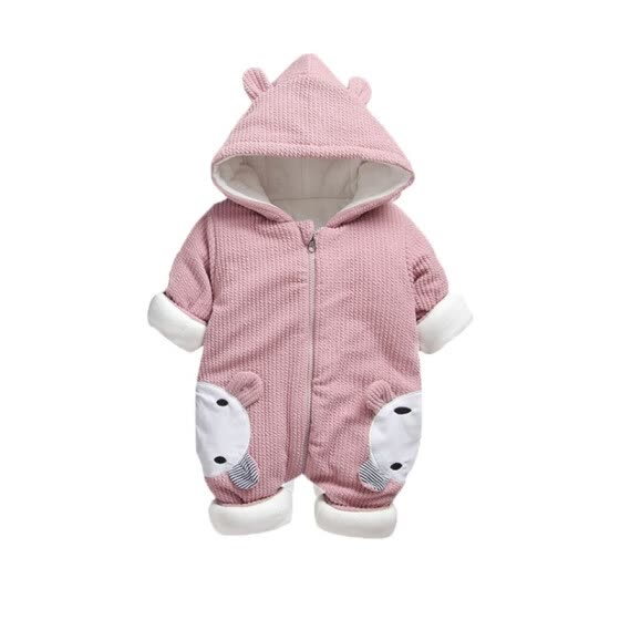2b384bacb778 Shop 2108 New Baby rompers Overalls Clothes Winter Boy Girl Garment ...