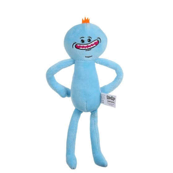 Cute Cartoon Rick Plush Doll Morty Toy Kids Stuffed Toy Accessories Soft Pillow Birthday Gift